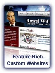Professional Political Custom Websites