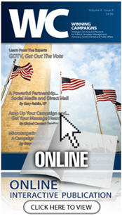 Winning Campaigns Magazine GOTV 2012