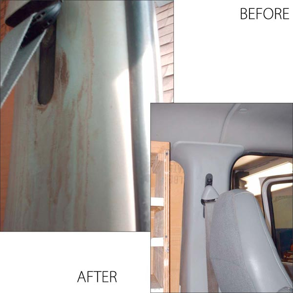 Anti Rust Oil Spray Car Detailing Burlington Before And After Photos